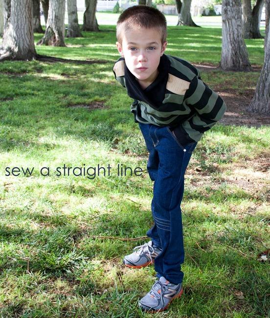 varsity cowl neck sew a straight line-27