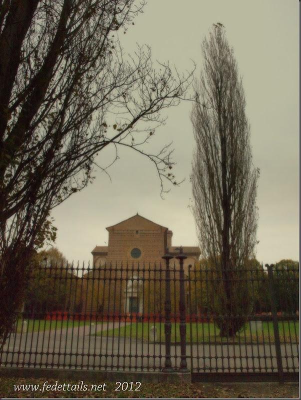 La chiesa di San Cristoforo ( panoramica 1 ), Ferrara, Emilia Romagna, Italia - The church of San Cristoforo (Overview 1), Ferrara, Emilia Romagna, Italy - Property and Copyrights of www.fedetails.net