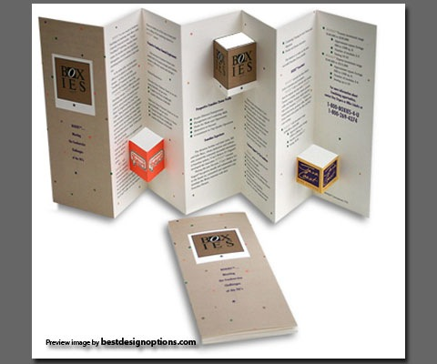 die cut brochure design examples 101greatbrochures of brochure