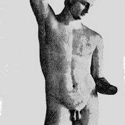 79 - Praxiteles - Satiro escanciador