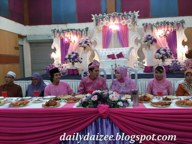 Tema warna purple dan pink...cantik menarik