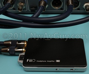 fiio e11 bench close up