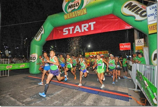 2 - A total of 11,785 runners joined the action-packed race at the 37th National MILO Marathon Cagayan de Oro qualifying leg