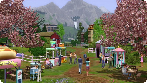 Sims 3 Seasons Screen Shot
