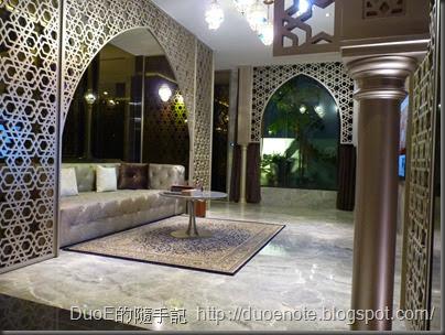 歐遊總統套房102(杜拜)-客廳