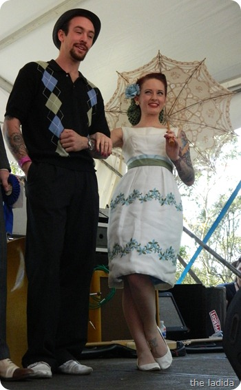 Fifties Fair Best Dressed Competition Couple