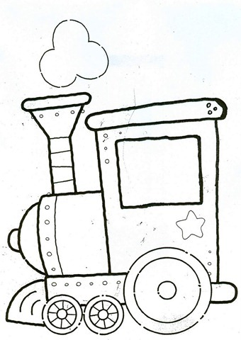 locomotora,locomotiva,Trenzinho de natal em EVA,molde natal eva,molde em eva,desenhos de natal
