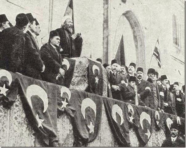 The Sheikh-ul-Islam proclaiming jihad 11-14-1914