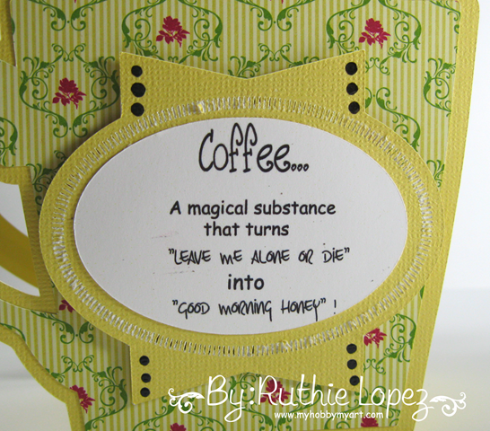 Bugaboo digital stamps - Stella peeker - magical substance - Cup 3D - Ruthie Lopez 3