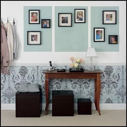 ideas-para-decorar-un-recibidor-con-papel-pintado