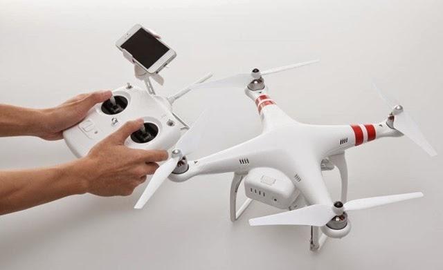 #4. DJI Phantom GPS Drone