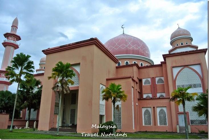 馬來西亞沙巴大學 粉紅清真寺 (13)