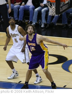 'Pau Gasol' photo (c) 2008, Keith Allison - license: http://creativecommons.org/licenses/by-sa/2.0/