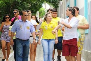 Rogério Marinho e Francielle Lopes - Caicó (1)