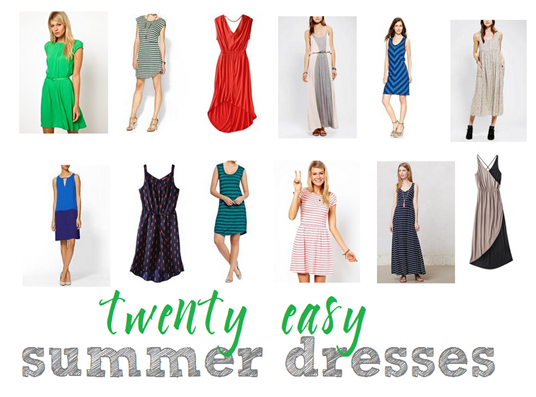twenty easy summer dresses