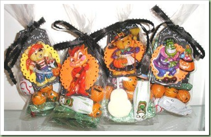 Trick or Treat Bags Candy Sweets