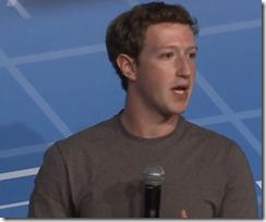 Mark Zuckerbeg MWC:ssä