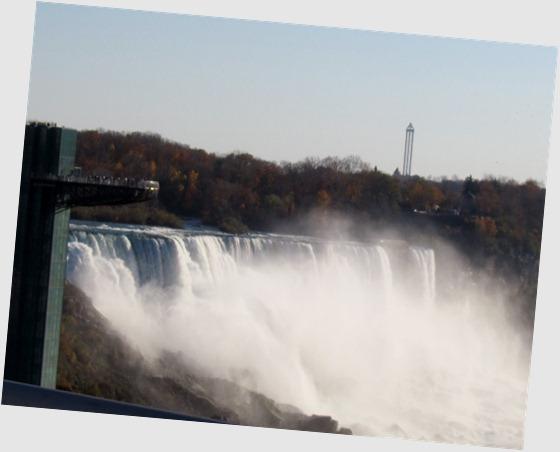 Observation Deck at Niagara Falls, NY