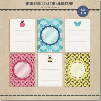 journal cards freebie