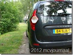 Proefrit Dacia Lodgy 08