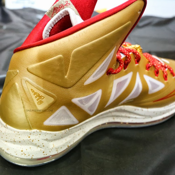 Detailed Look at Nike LeBron X 8220Ring Ceremony8221 PE