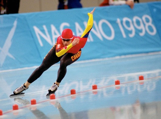 NAGANO OLYMPICS - SPEED SKATING - WOMEN'S