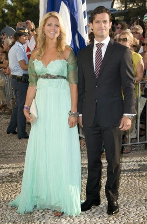 Magdalena y Carlos Felipe de Suecia llegaron juntos a la boda