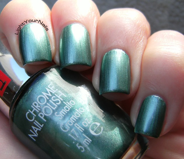 Pupa Chrome 017 Emerald Green