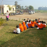 Primary on 10th January 2014 GDA Harni