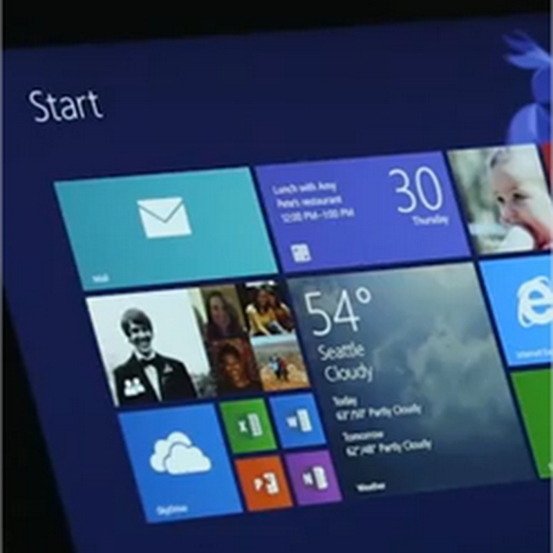Video con las características de Windows 8.1