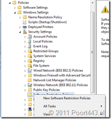 Create Software Protection Policies