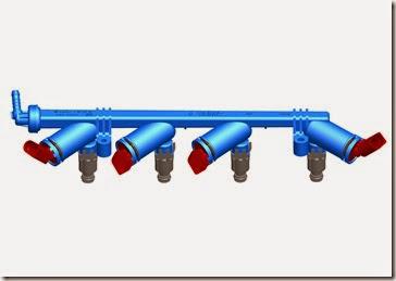 Sistema e-flex de aquecimento do combustivel