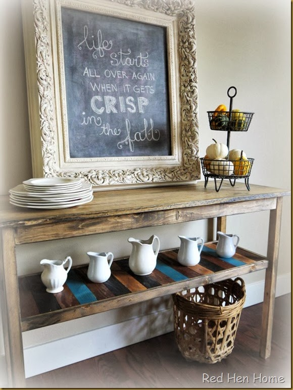 Red Hen Home Console Table 2