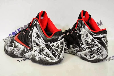 nike lebron 11 gr freegums graffiti 5 04 Nike LeBron XI Home Graffiti Official Release Date