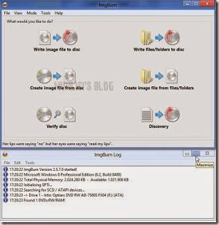 cara membakar data ke dalam kaset DVD