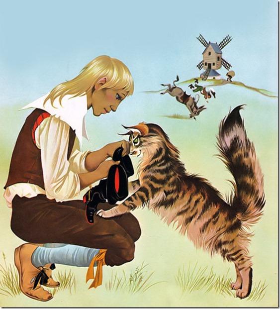 El Gato con Botas,El gato maestro,Cagliuso, Charles Perrault,Master Cat, The Booted Cat,Le Maître Chat, ou Le Chat Botté (2)