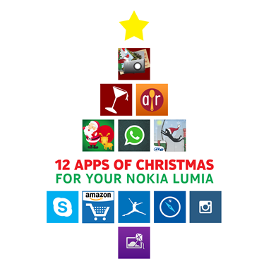 Nokia 12 Apps of Christmas Visual