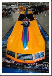 Rodeny Fazekas' Eastern Raider Nitro Funny Car