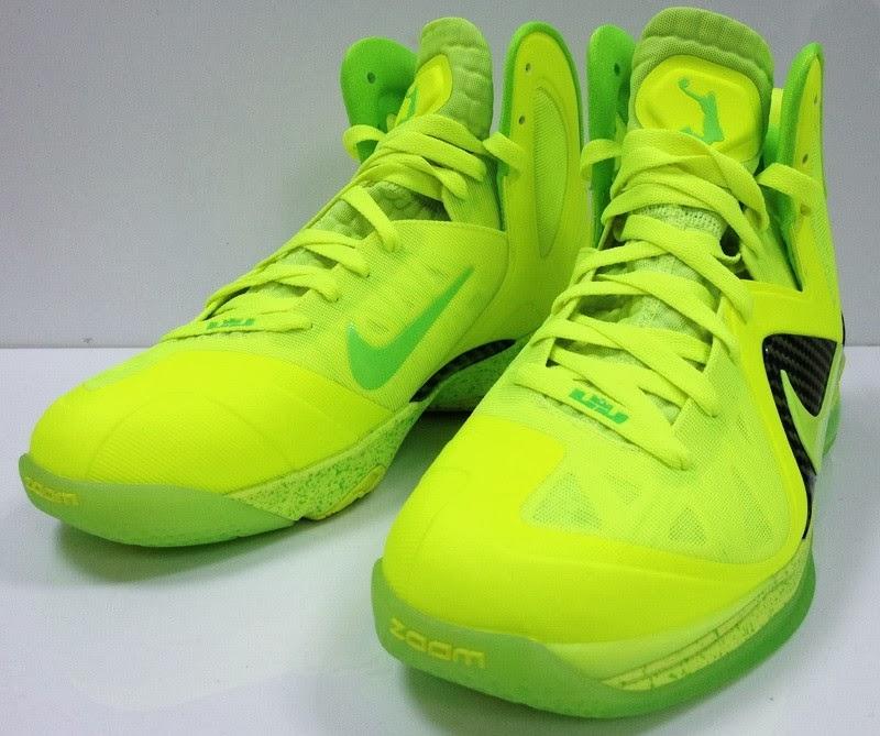 Nike LeBron 9 PS Elite Volt Dunkman