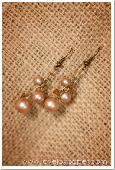 AmandaSherman Swarovski Crystal & Pearl earrings