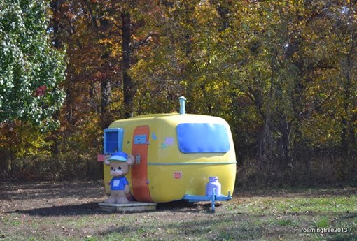Now that's a cute camper!