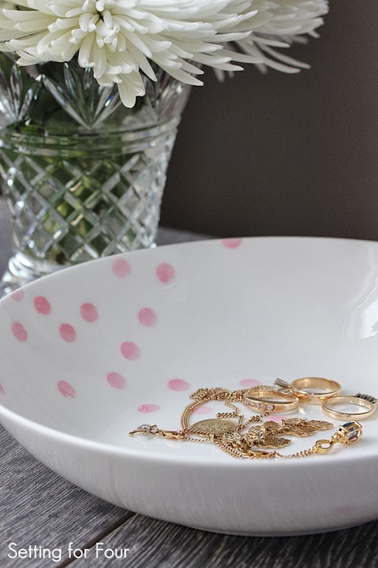 Make a Confetti Pattern Bowl