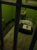 One of the cells at Alcatraz