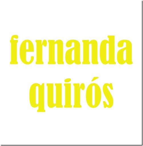 Fernanda Quirós