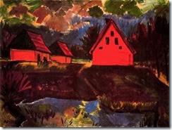 Casas rojas