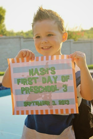Nash's First Day of Preschool 006