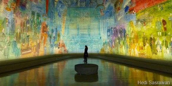 Pengertian Seni Rupa Dua Dimensi dan Tiga Dimensi