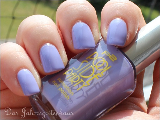 0 P2 Limited Edition LE Pool Side Party Nagellack 030 Violet Summerdream 2
