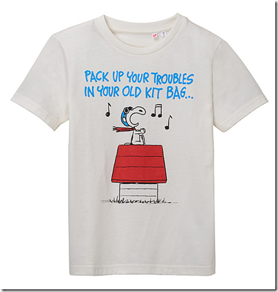 Uniqlo X Snoopy Tee - Kids 05