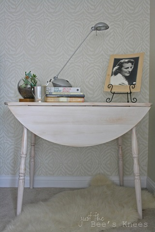how to whitewash a table